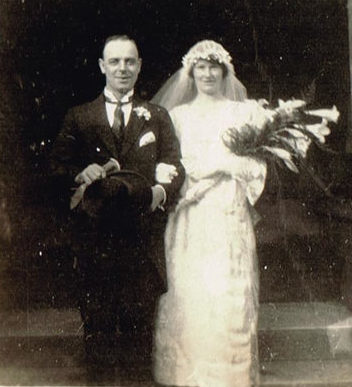 c1920 Wedding photograph