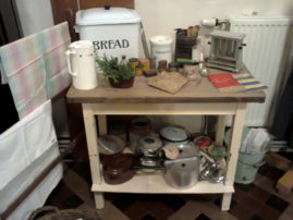 1940s display by Kitty conway's Vintage