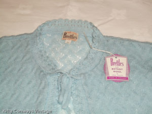 Blue Brettles bed jacket new with tag