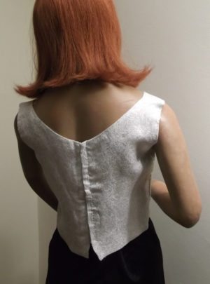 1950s/60s ladies evening top - back