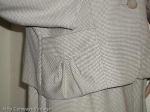 1950s/60s dress suit - jacket pocket
