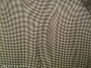 1950s/60s dress suit - close up of hole/damage