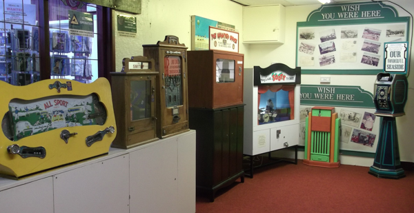 Bygone Times Vintage Arcade games - All Sport, Haunted House, Sooty, Seaside pictures