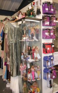 New November stock of dolls and hosiery