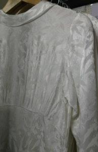 Vintage ivory coloured wedding dress